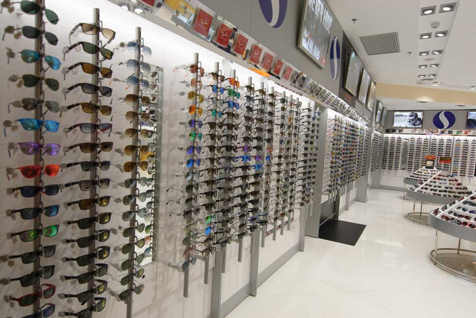 Display gafas y lentes Soloptical