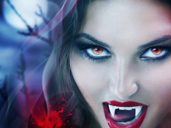 Lentillas de miedo para Halloween