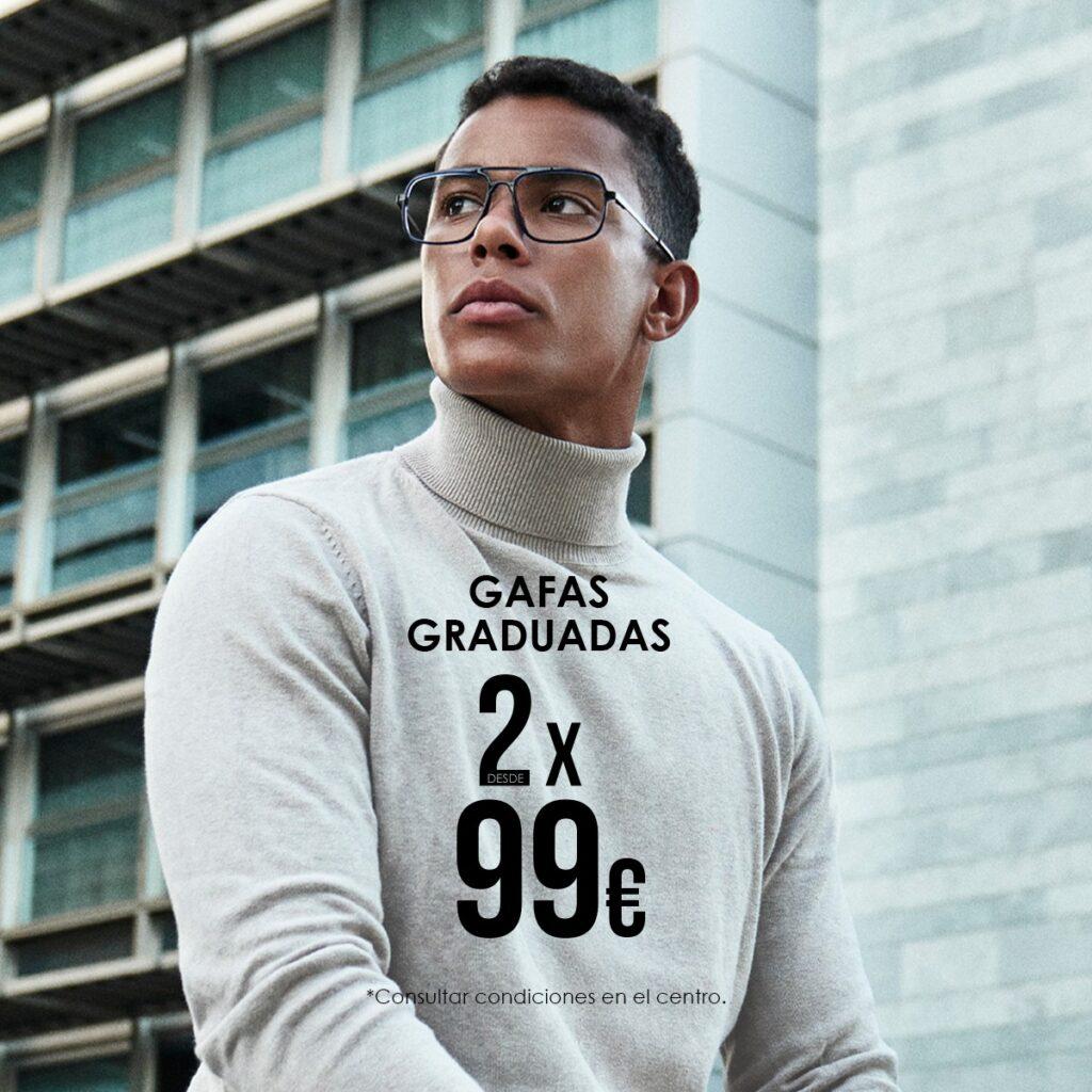 2 gafas de firma nacional por 99€