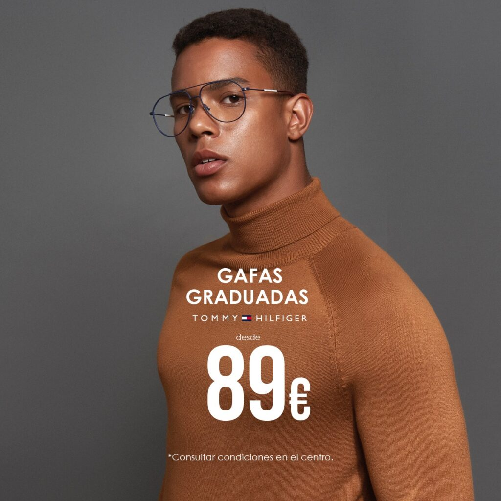 gafas graduadas tommy hilfiger por 89€