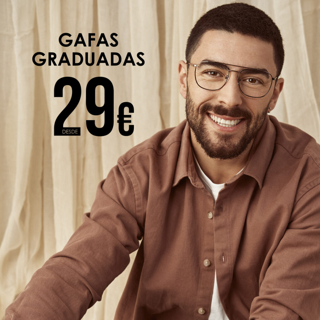 gafas graduadas desde 29 euros
